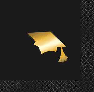 Black and Gold Graduation