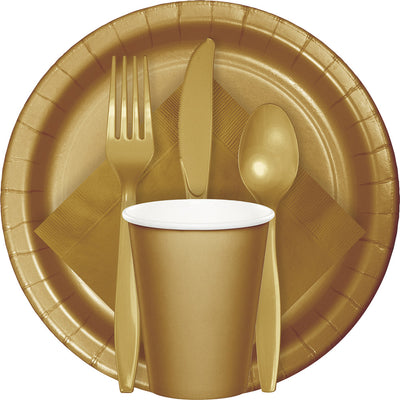 Glittering Gold Tableware