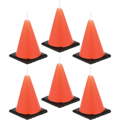 Construction Cone Candle Molds 6 ct.