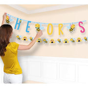 Little Honey Bee Jumbo Banner 1 ct