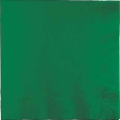Emerald Green Lunch Napkins 50 ct.