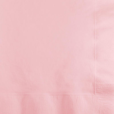 Classic Pink Beverage Napkins 50 ct.