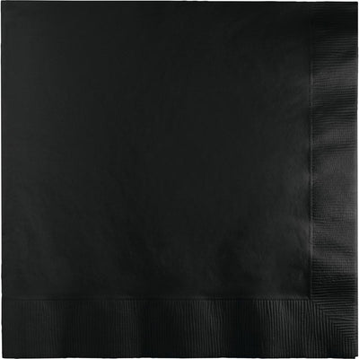 Black Luncheon Napkins 50 ct.