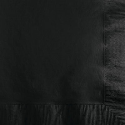 Black Beverage Napkins 50 ct.