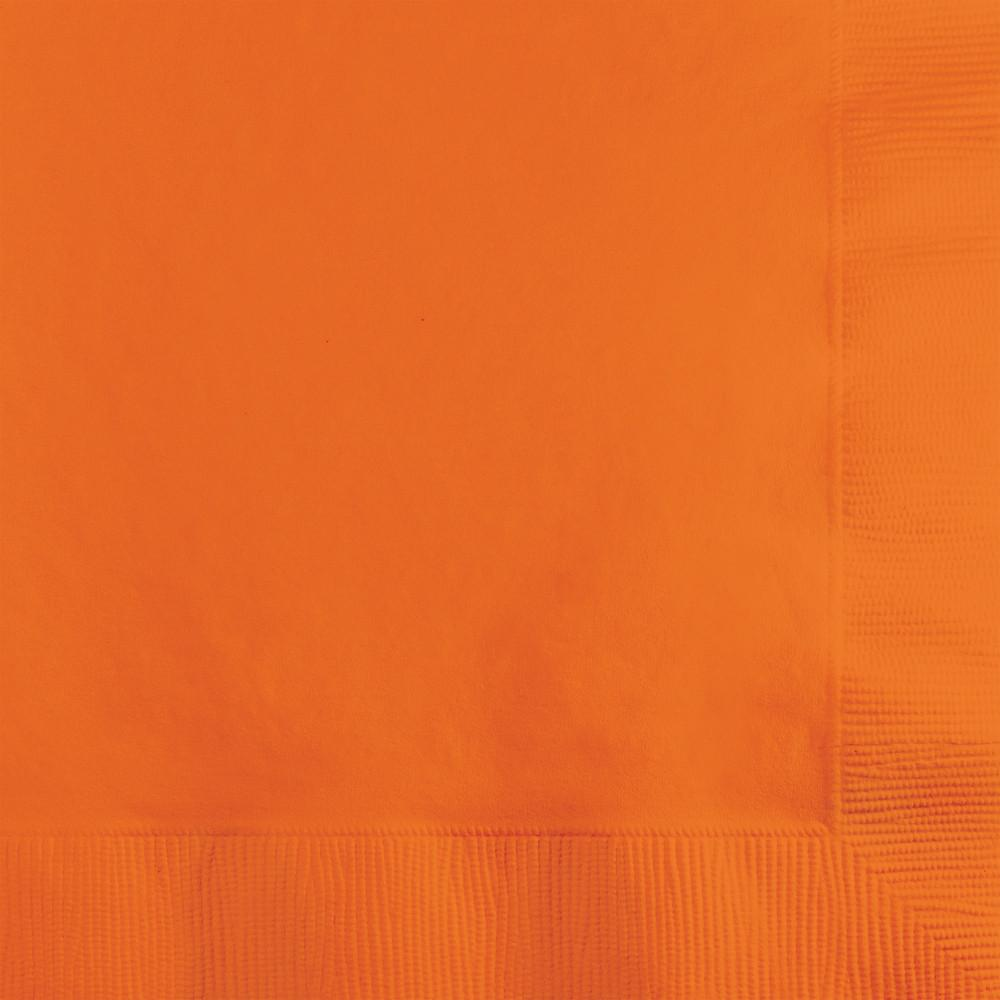 Sunkissed Orange Beverage Napkins 50 ct