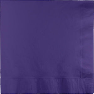 Purple Lunch Napkins 50 ct