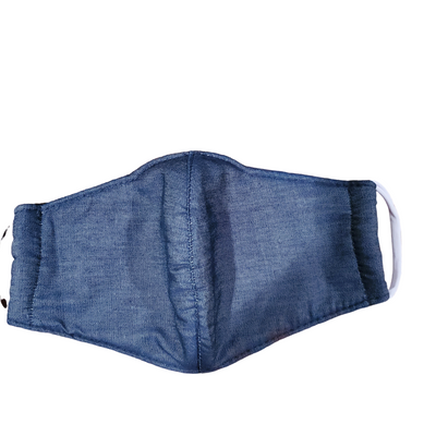 Unisex Dark Chambray Mask Adult  1ct.