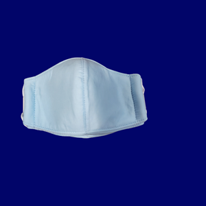 Solid Blue Toddler Face Mask 18M to 3T  1ct.