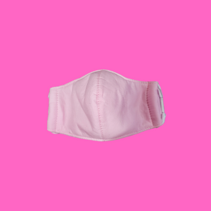 Solid Pink Toddler Mask 18M to 3T  1ct.
