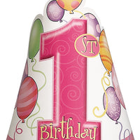 First Birthday Pink High Chair Decorating Kit