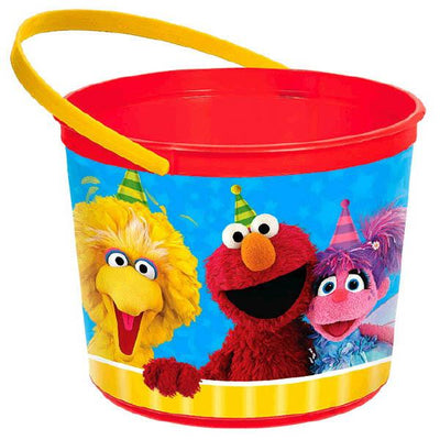 Sesame Street Favor Container  6 1/4 in. X 5 in.  1 ct.