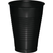 12 oz Black Plastic Cup 20ct