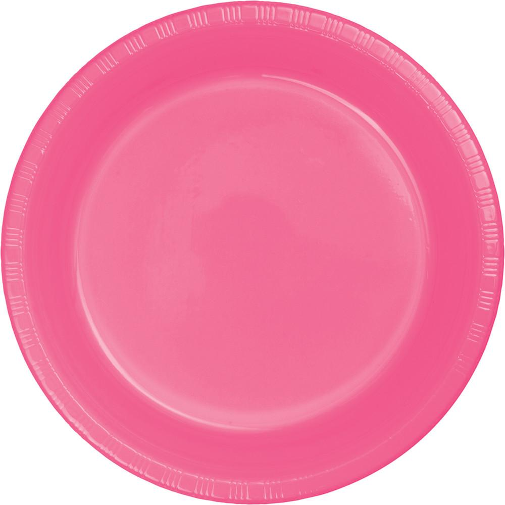9 in. Candy Plastic Lunch Plates 20 ct