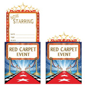 Hollywood Lights Popup Invitation  8 ct.