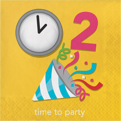 Time To Party Luncheon Napkins 16 ct.