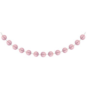 Classic Pink Mini Honeycomb Garland 1 ct.