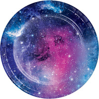 7 in. Galaxy Party Dessert Paper Plates 8 ct.