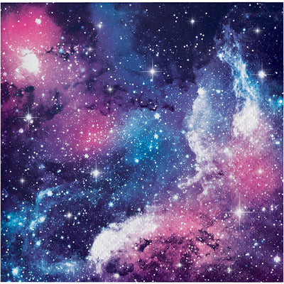Galaxy Party Beverage Napkins 16 ct.