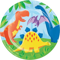 9 in. Dinosaur Friends Lunch Plates 8 ct.