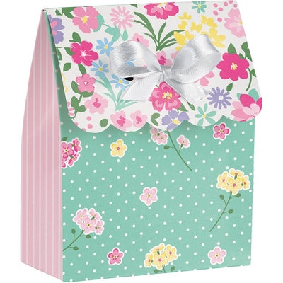 Floral Tea Party Favor Bags 12 ct.