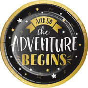 9 in. Grad Adventure Lunch Plates 8 ct.
