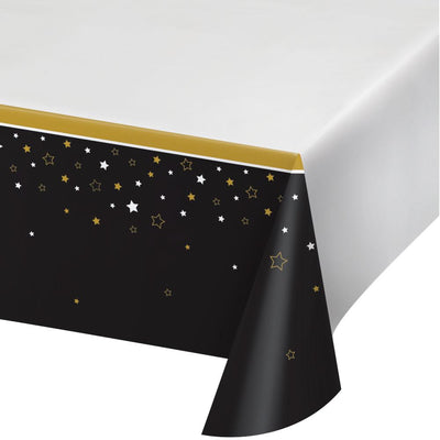 Grad Adventure Plastic Tablecover 54 in. X 102 in.  1 ct.