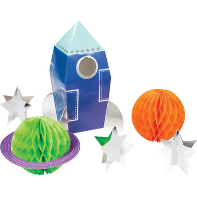 Space Party 3D  Centerpiece  6 ct.