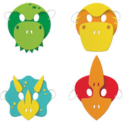 Dinosaur Friends Foam Masks 4 ct.
