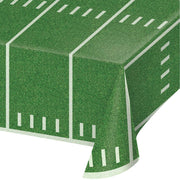 Football Field Plastic Tablecover 54 in. X 108 in.  1 ct.