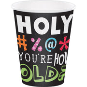 12 oz Holy Bleep Paper Cups 8ct