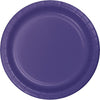 9 in. Purple Paper Lunch Plates 24 ct