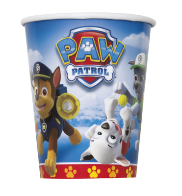 Paw Patrol 9oz Paper Cups 8ct