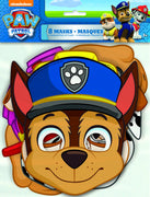 Paw Patrol Party Masks 8 ct.