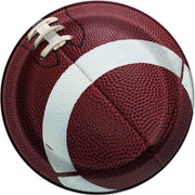7 in. Football Paper Plates 8 ct