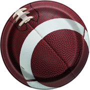 9 in. Football Paper Plates 8 ct