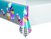 Mad Hatter Tea Party Tablecover 54 in. X 84 in. 1 ct.
