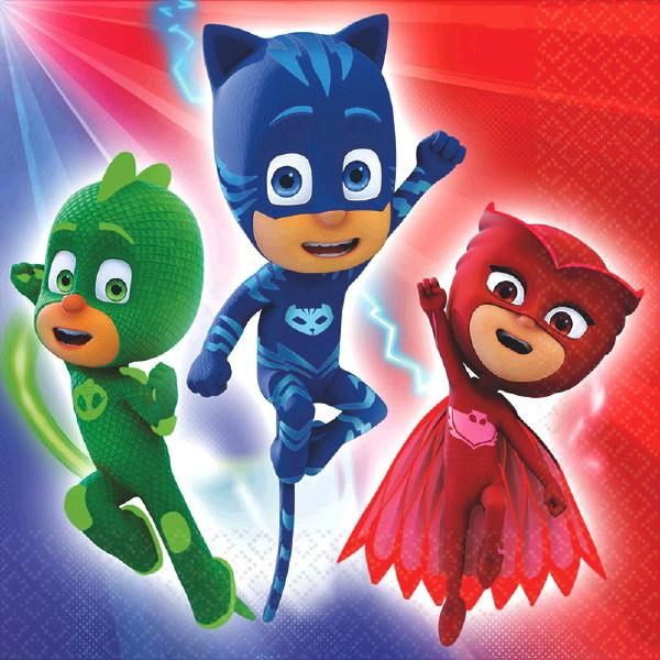 PJ Masks Luncheon Napkins 16 ct.