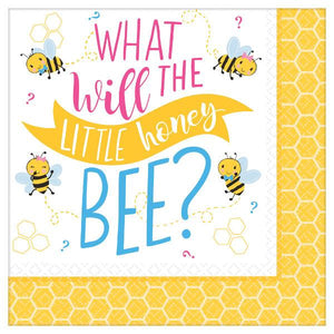 Little Honey Bee Lunch Napkins 16 ct.