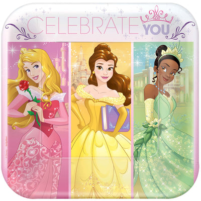 Princess Dream Big Dessert Plates 8 ct.