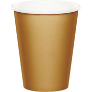 9 oz. Glittering Gold Paper Cups 24 ct