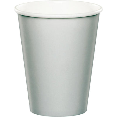 9 oz. Shimmering Silver Paper Cups 24 ct