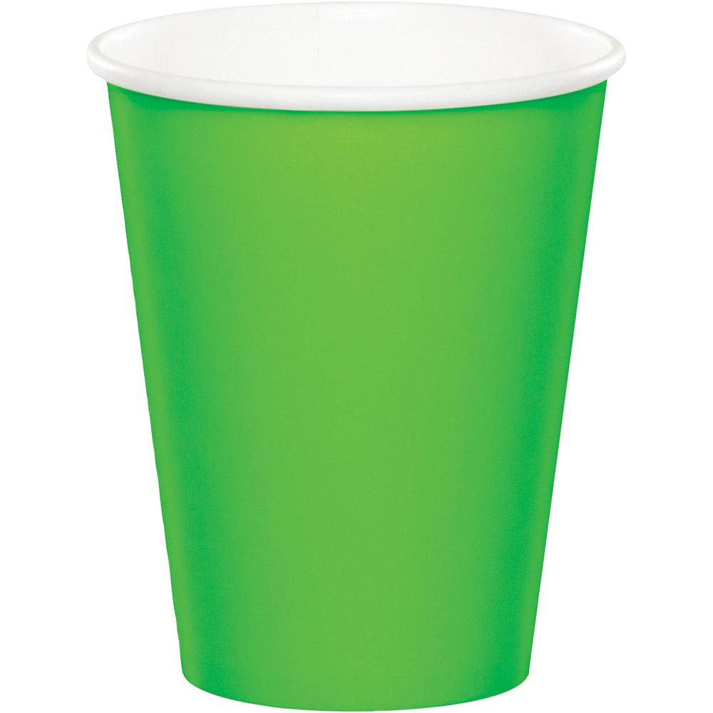 9 in, Fresh Lime Paper Cups