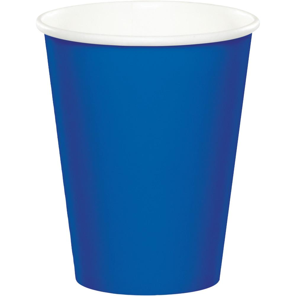 9 oz. Cobalt Blue Paper Cups 24 ct.