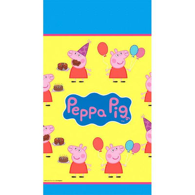 Peppa Pig Plastic Table Cover 54in. X 96 in.    1ct.