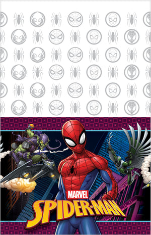 Spider Man Webbed Wonder Tablecover 54 in. X 96 in. 1 ct