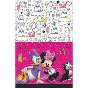 Minnie Mouse Happy Helpers Plastic Tablecover 1 ct.