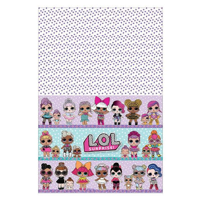 L.O.L. Surprise Tablecover 54 in. X 96 in 1 ct