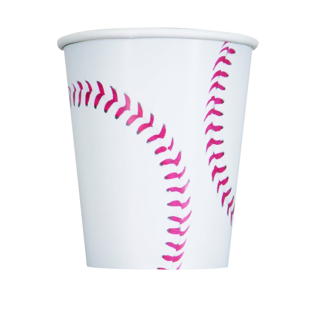 9 oz. Baseball Paper Cups 16 ct