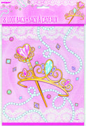 Pink Princess Loot Bags 8 ct.