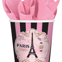 9 oz. A Day in Paris Cups 8 ct